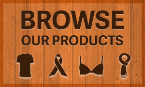A designed button that says Browse our Products